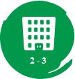 2 đến 3 tầng thương mại akari city