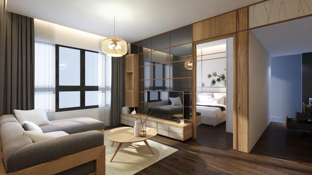 thiết kế akari city
